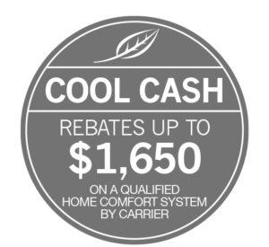 Carrier Cool Cash Rebate